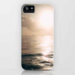 Indian ocean evening iPhone Case