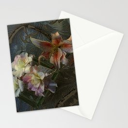 The Begonia Brocade Stationery Cards
