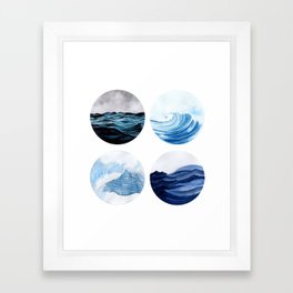 Sea view Framed Art Print