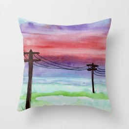 skyscapes 4 Throw Pillow