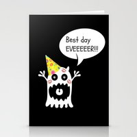 birthday Stationery Cards featuring Birthday by My own little world