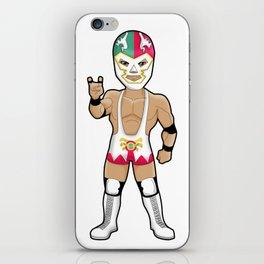 Wrestling Aztek Mask iPhone Skin