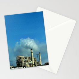 Pollution. Stationery Cards