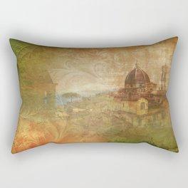 Italian Manuscript Rectangular Pillow
