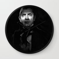 actor Wall Clocks featuring Bela Lugosi is Dead by Thubakabra