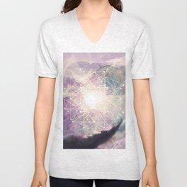sacred geometry Unisex V-Neck