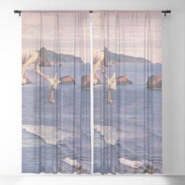 Starfishing Sheer Curtain