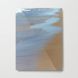 A Stroll Along The Shore Metal Print