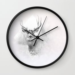 OH DEER ! Wall Clock