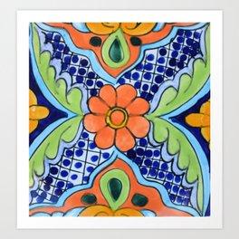 Talavera Ten Art Print
