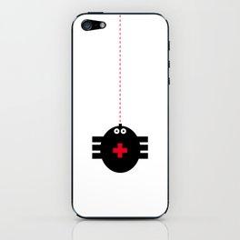 happy spider iPhone Skin