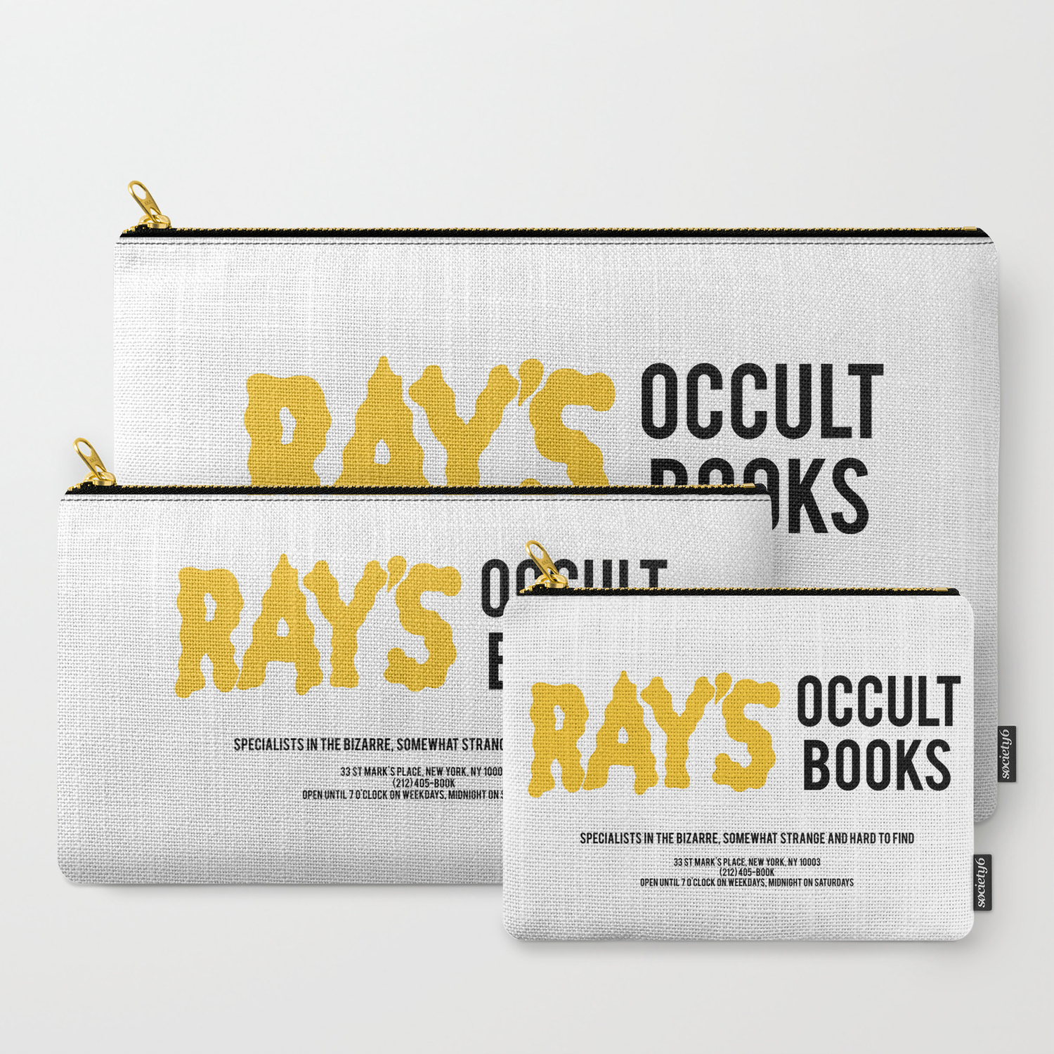 Ray's Occult Books Ghostbusters tribute Carry-All Pouch
