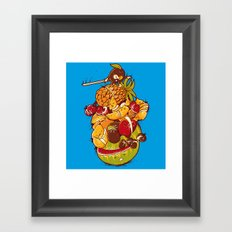 Little Warrior Framed Art Print