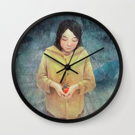 Sophie the Bird Saver Wall Clock
