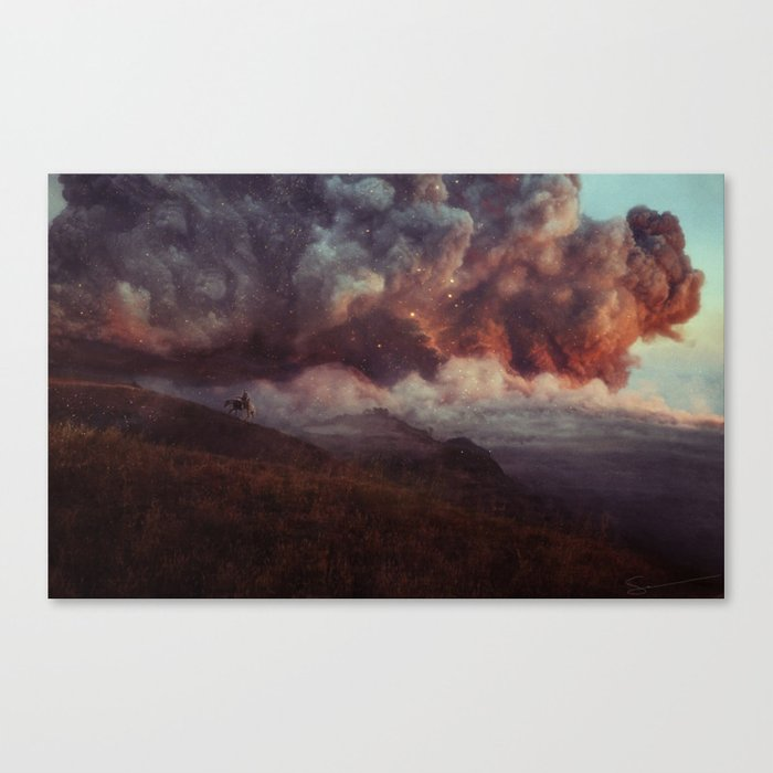 Apocalyptic Cowboy Canvas Print