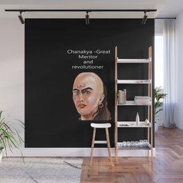 Chanakya - Great mentor and revolutioner Wall Mural