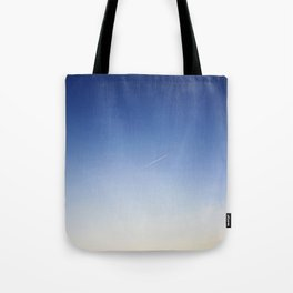 Blue sky background Tote Bag