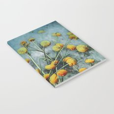Summers Yellow Notebook