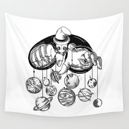 Planets Puppeteer Wall Tapestry