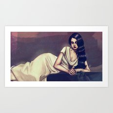 Lizzy Grant Art Print