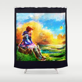 Nausicaa of the Valley of the Wind Shower Curtain