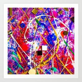 Spac3 Art Print
