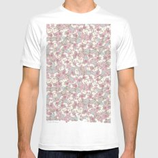 Rosas MEDIUM Mens Fitted Tee White