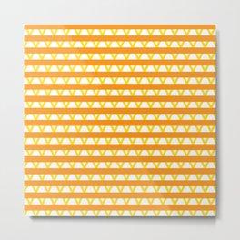 Paranoia (Orange and Yellow) Metal Print