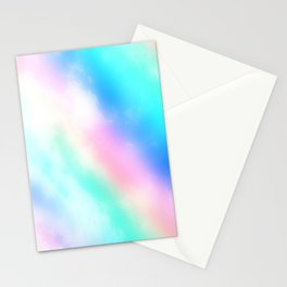 Rainbow Pastel Stationery Cards