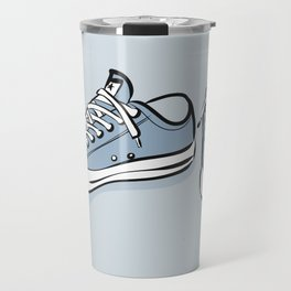 Grey Sneakers Travel Mug