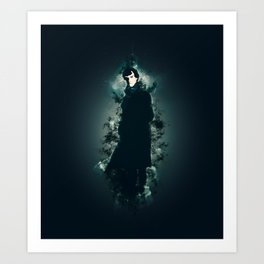 Sherlocked Art Print