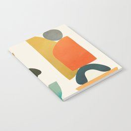 Modern Abstract Art 72 Notebook