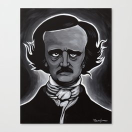 Edgar Canvas Print