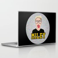 miley cyrus Laptop & iPad Skins featuring Miley Cyrus by Jessica Guetta