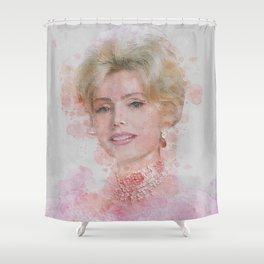 Zsa Zsa Gabor Shower Curtain