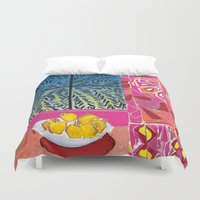 matisse Duvet Covers featuring Matisse version by bbay