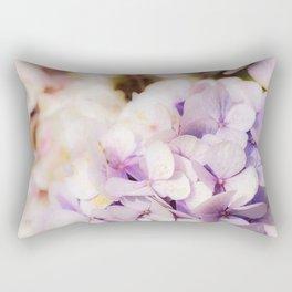 Faded Blue Rectangular Pillow