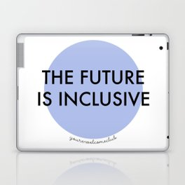 The Future Is Inclusive - Blue Laptop & iPad Skin