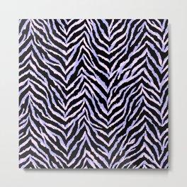 Zebra fur texture print II Metal Print
