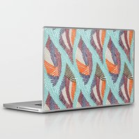 knitting Laptop & iPad Skins featuring knitting dots by frameless