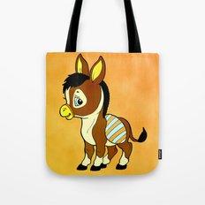 Childhood Donkey Tote Bag