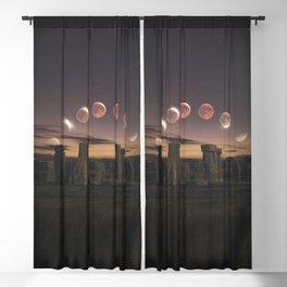 Blood Moon Eclipse, UK Blackout Curtain