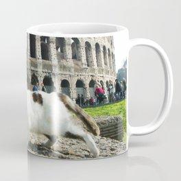 The Cat of the Colosseum Coffee Mug