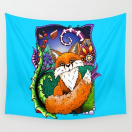 Lady Fox ZIA Wall Tapestry