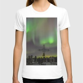 Ghostly Northern Lights T-shirt