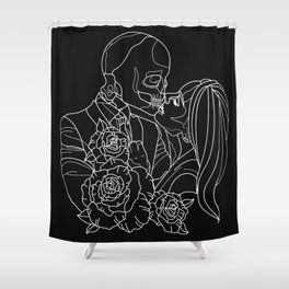 Kissed by the curse Shower Curtain