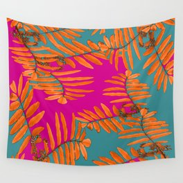 Leaves In Autumn Colors #decor #society6 #buyart Wall Tapestry