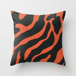 Tiger Skin Pattern Sorbus Throw Pillow
