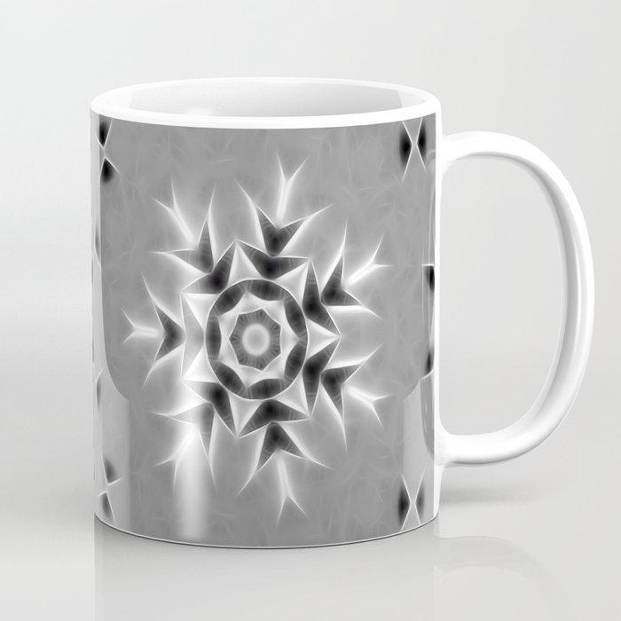 Gray Kaleidoscope Art 20 Coffee Mug