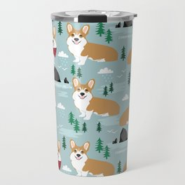 Corgi cannon beach oregon northwest vacation seaside welsh corgis Travel Mug